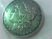 UNITED STATES Silver Coin 1884 MORGAN DOLLAR